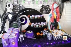 Nightmare Before Christmas Party Table