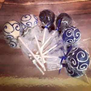 beautiful cake pop piping