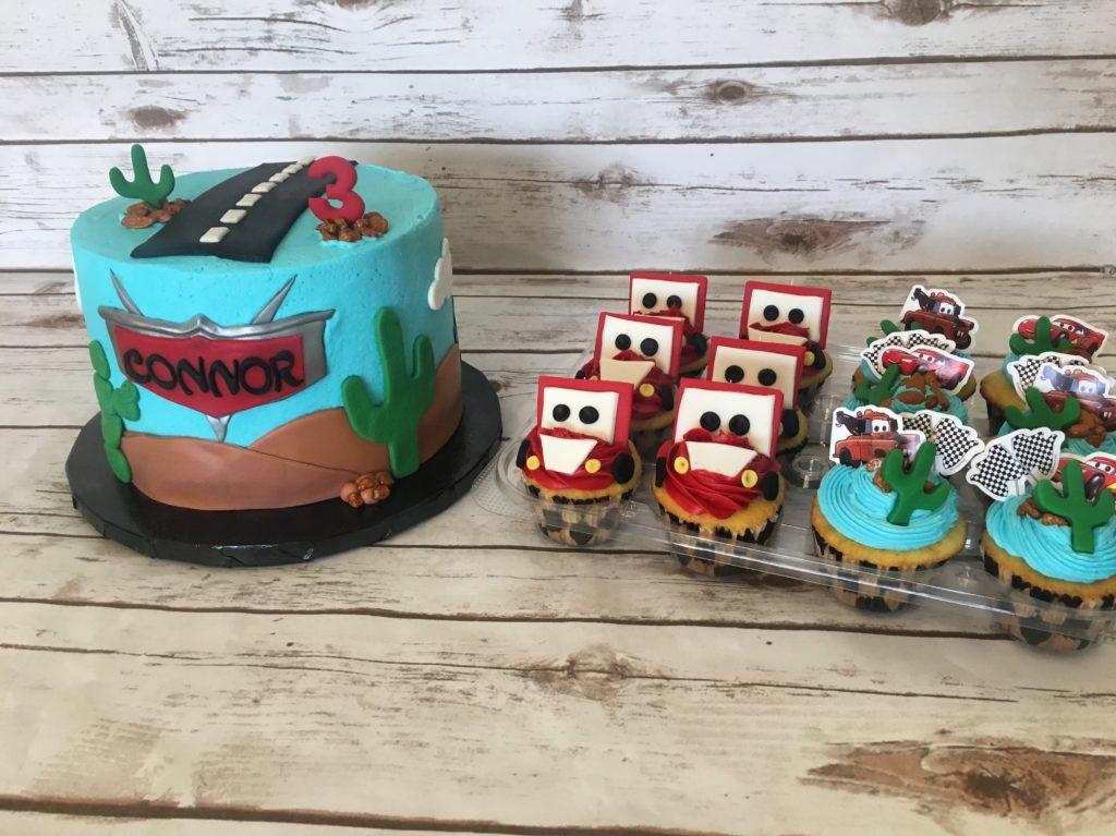 Cars cupcakes phoenix